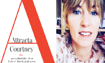 International make-up artist Attracta Courtney launches new website and Instagram series