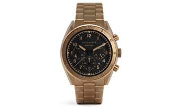 AllSaints debuts Watch collection