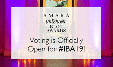 The Interior Blog Awards 2019 voting open