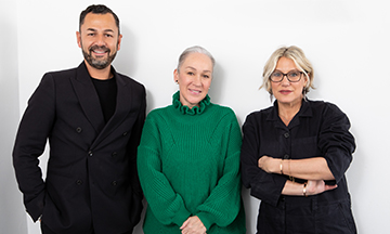 Andrew Perera, Millie Kendall and Anna-Marie Solowij, Co-Founders of BRANDstand Communications