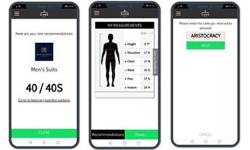 Aristocracy London collaborates with Sizer app to offer bespoke fitting service