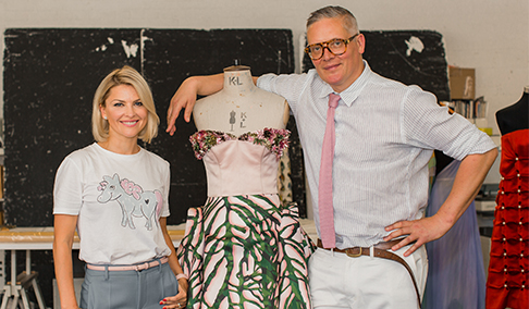 Aspinal of London unveils collaboration with  Giles Deacon