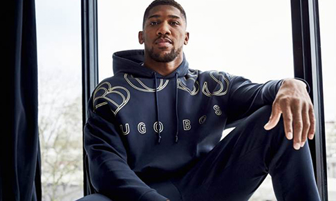 BOSS collaborates with Anthony Joshua