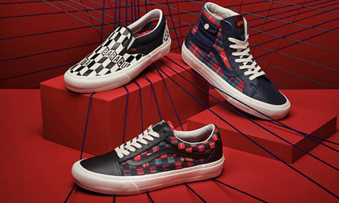 Baracuta collaborates with Vans
