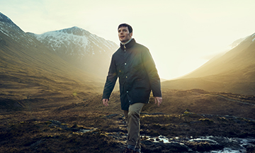 Barbour names Sam Clafin as face of new luxury sub-brand