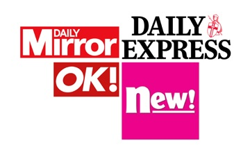 Beauty team update for S, Notebook, OK!, OK online, New!, Express Saturday, TV Life and Love Sunday