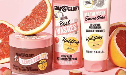 British beauty brand Soap & Glory collaborates with fragrance house Givaudan