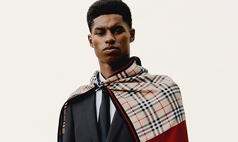 Burberry partners with Marcus Rashford on global youth support initiative