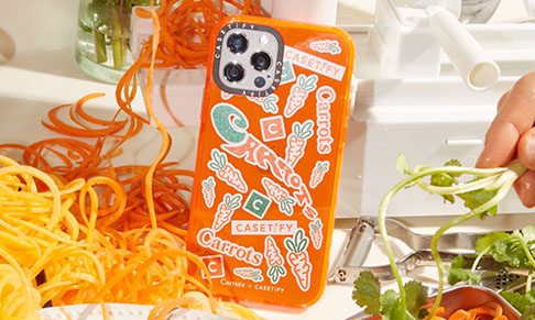 CASETiFY collaborates with streetwear brand Carrots