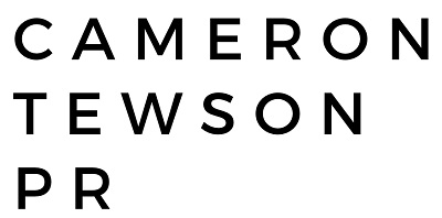 Cameron Tewson PR - freelance PR consultant PR job - LOGO