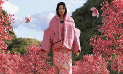 Canada Goose collaborates with Angel Chen on spring collection