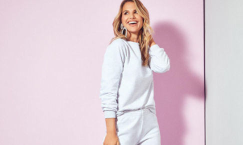 Cashmere label Lucy Nagle collaborates with Vogue Williams