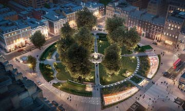 Cavendish Square London to be redeveloped