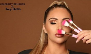 Celebrity Brushes collaborates with Amy Childs