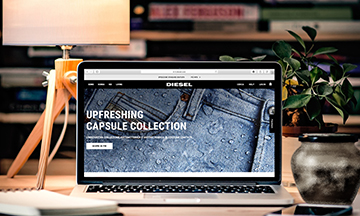 DIESEL launches new omni-channel platform