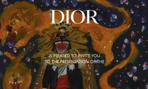Dior Homme collaborates with Scottish artist Peter Doig