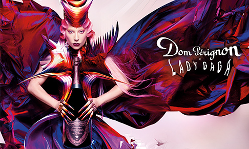 Dom Pérignon collaborates with Lady Gaga