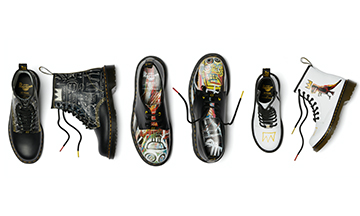 Dr. Martens collaborates with postmodern artist Jean-Michel Basquiat