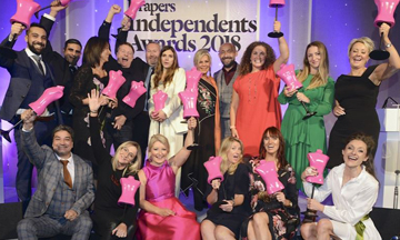Drapers Independents Awards 2018 winners announced