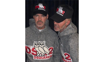Dsquared2 collaborates with OVO