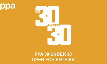 Entries open for PPA 30 Under 30 Awards