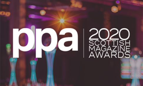 Entries open for the PPA Scottish Magazine Awards 2020