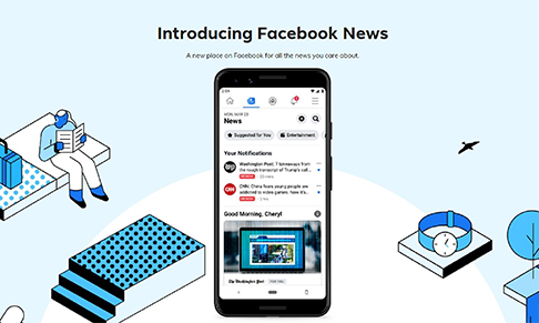 Facebook to launch Facebook News in the UK