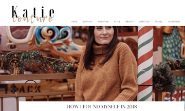 Fashion and lifestyle blog What Katie Did Now rebrands to Katie Couture