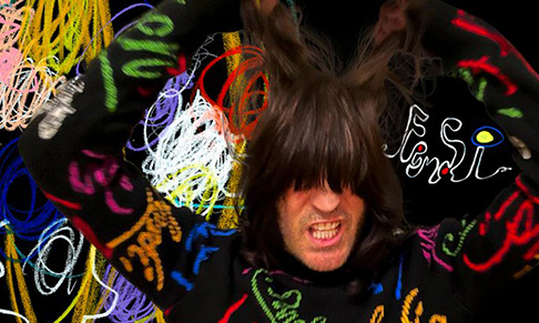 Fendi collaborates with Noel Fielding