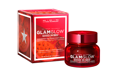 GLAMGLOW launches GOOD IN BED Passionfruit Skin Softening Cream