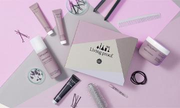 GLOSSYBOX collaborates with living proof