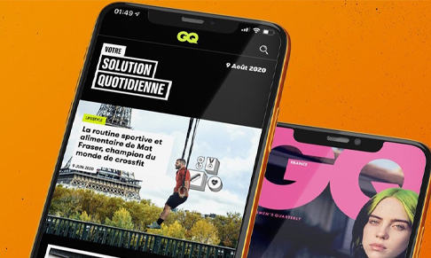GQ France launches app
