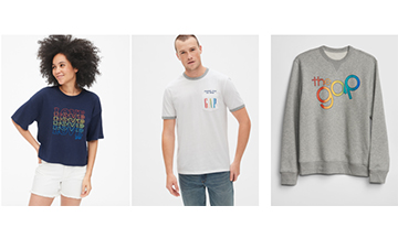 Gap supports Pride 2019