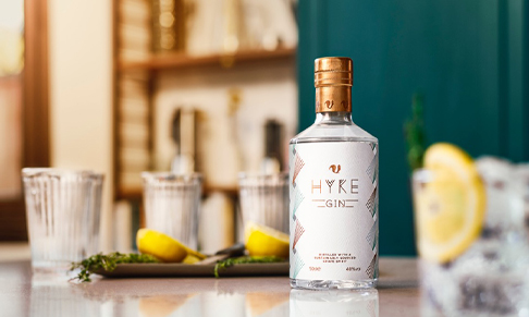 Gin brand HYKE announces launch and appoints PR
