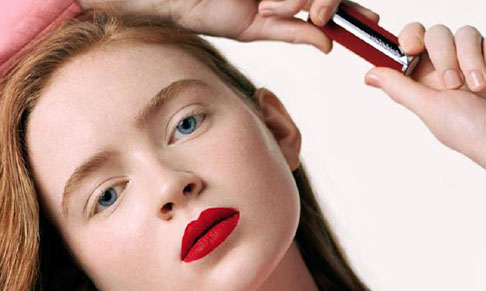 Givenchy Beauty collaborates with Sadie Sink on latest lipstick launch