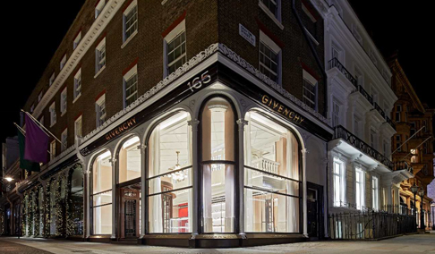 Givenchy opens first UK store