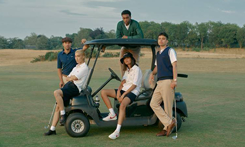 Golf lifestyle brand Manors appoints Purple