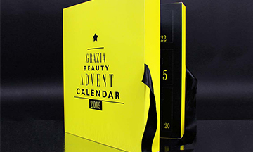 Grazia debuts Beauty Advent Calendar