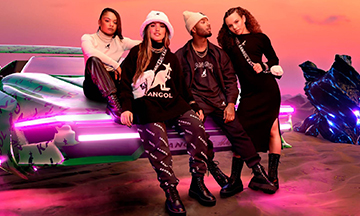 H&M collaborates with Kangol and Mabel