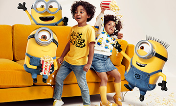 H&M collaborates with Universal on Minions kids collection