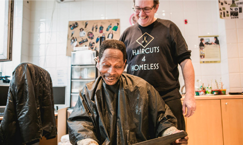 Haircuts4Homeless appoints BRANDstand Communications