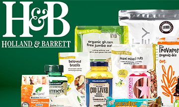 Holland & Barrett collaborates with Deliveroo
