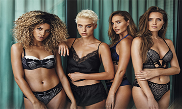 Hunkemöller collaborates with models and influencers for latest campaign
