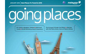 Ink Global relaunches Going Places with Malaysia Airlines