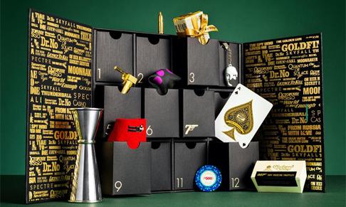 James Bond 007 unveils debut Advent Calendar