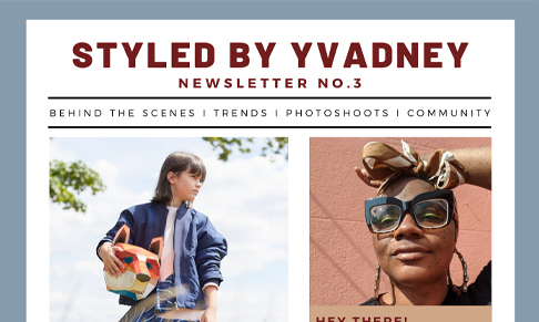 Kids and teens fashion stylist Yvadney Davis launches newsletter