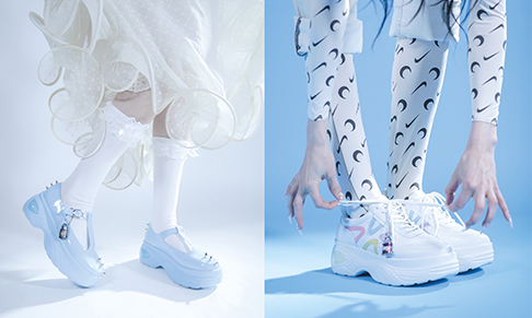 Koi Footwear collaborates with American musician Poppy