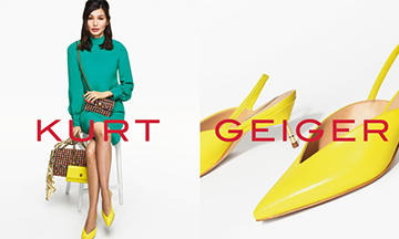 Kurt Geiger unveils Gemma Chan as face of campaign