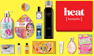 Latest in Beauty launch debut Heat Magazine collaboration