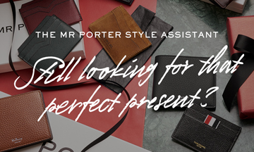 MR PORTER launches The MR PORTER Style Assistant with Facebook Messenger